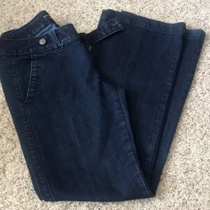 Banana republic trouser jeans size 6 worn once